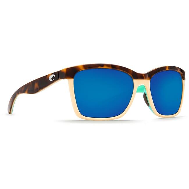 Costa Anaa Shiny Retro Tort/Cream/Mint Frame Sunglasses ANA-105