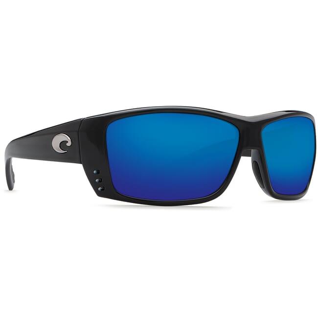 Costa Cat Cay Shiny Black Frame Sunglasses AT-11