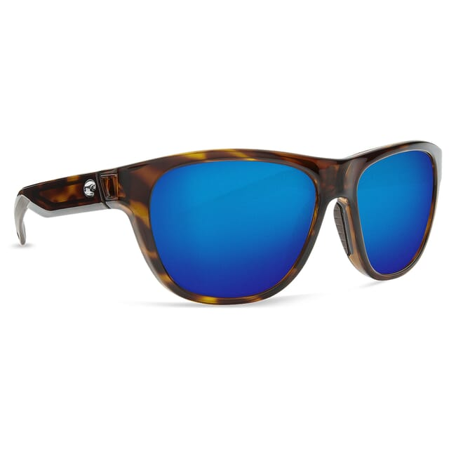 Costa Bayside Shiny Tortoise Frame Sunglasses BAY-10