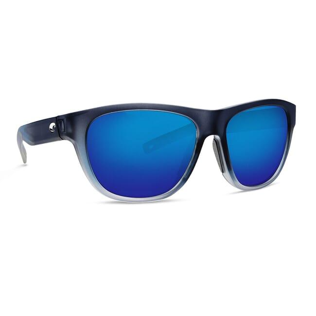 Costa Bayside Bahama Blue Frame Sunglasses BAY-193