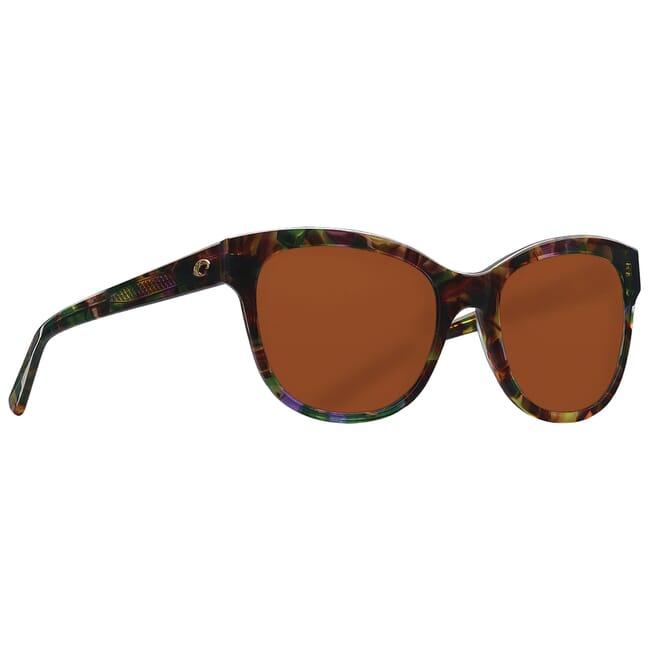 Costa Bimini Shiny Abalone Frame Sunglasses BIM-208