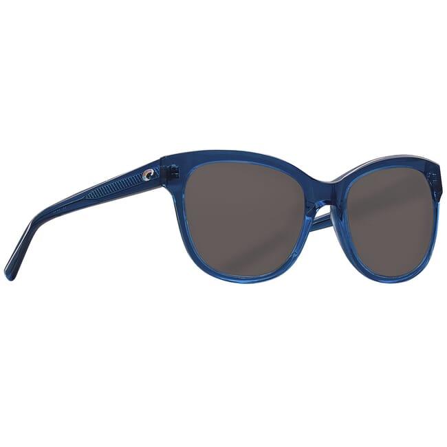 Costa Bimini Shiny Deep Teal Crystal Sunglasses BIM-244