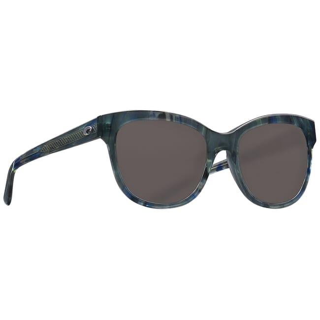 Costa Bimini Shiny Ocean Current Frame Sunglasses BIM-260
