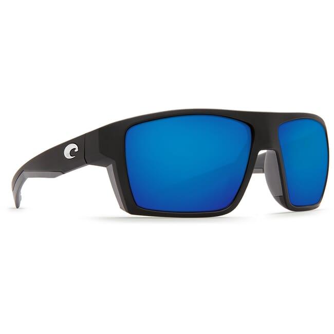 Costa Bloke Matte Black + Matte Gray Frame Sunglasses BLK-124