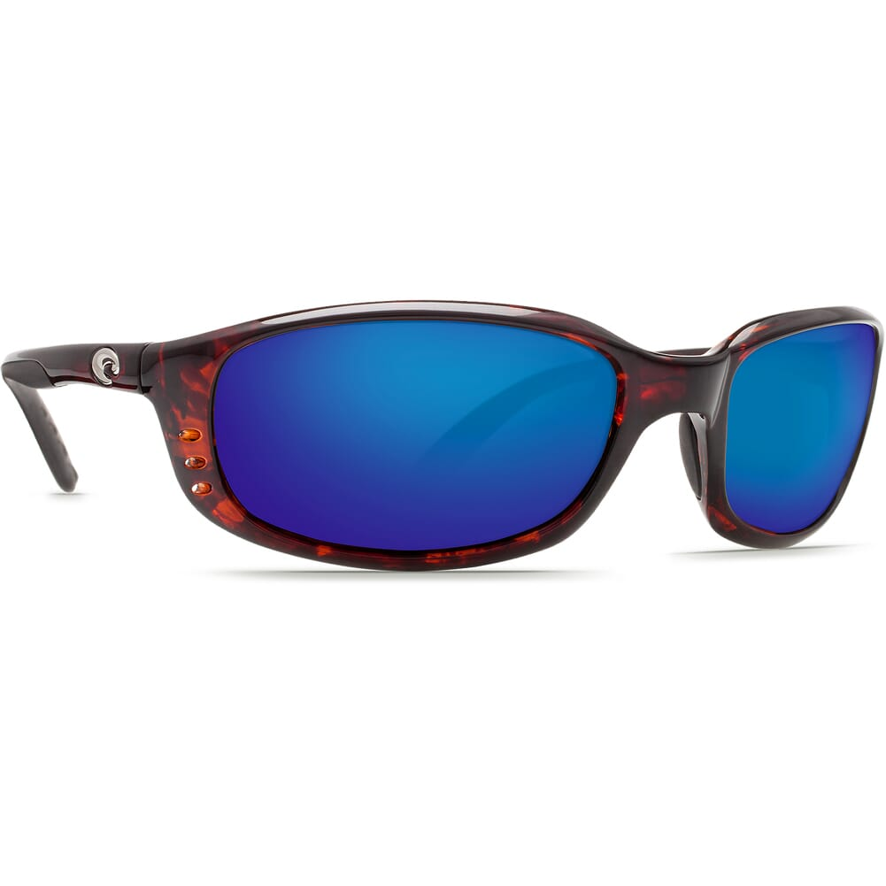 Costa Brine Tortoise Frame Sunglasses w/Blue Mirror 580G Lenses - New Without Tags 06S9017-90171059