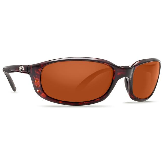 Costa Brine Tortoise Frame Sunglasses w/ Copper 580P C-Mate 1.50 Lenses BR-10-OCP-1.50