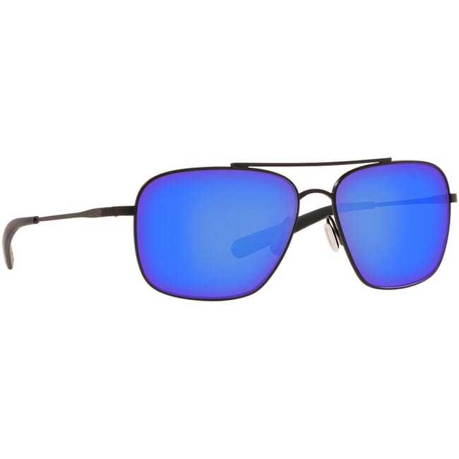 Costa Canaveral Satin Black Frame Sunglasses CAN-101