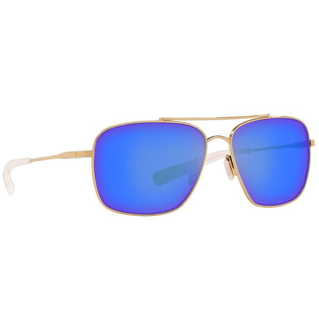 Costa Canaveral Shiny Gold Frame Sunglasses CAN-126