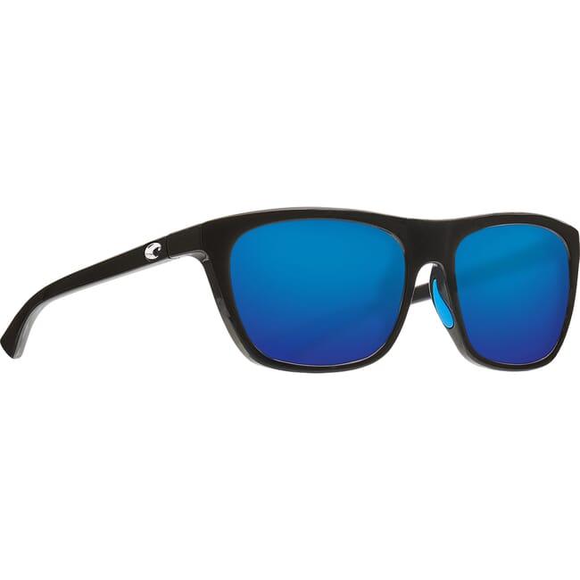 Costa Cheeca Shiny Black Frame Sunglasses CHA-11