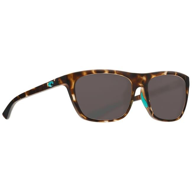 Costa Cheeca Matte Shadow Tortoise Frame Sunglasses CHA-249