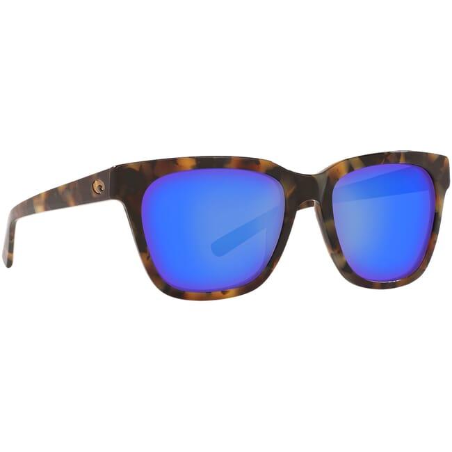 Costa Coquina Shiny Vintage Tortoise Frame Sunglasses CQA-241