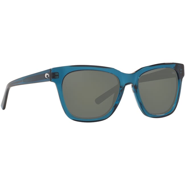 Costa Coquina Shiny Deep Teal Crystal Frame Sunglasses CQA-244