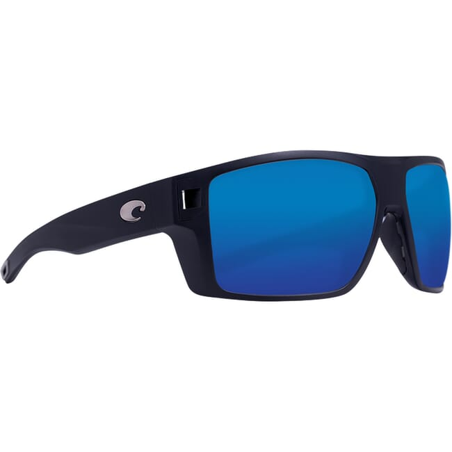 Costa Diego Matte Black Sunglasses DGO-11