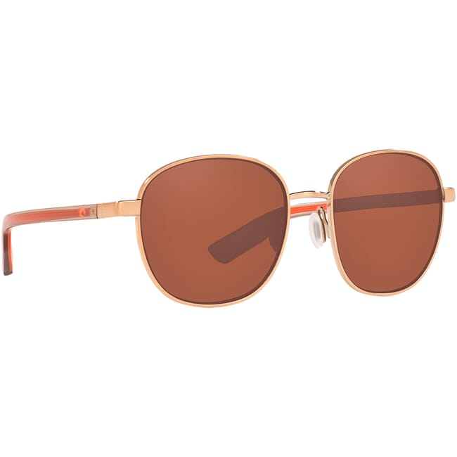 Costa Egret Rose Gold Sunglasses EGR-297