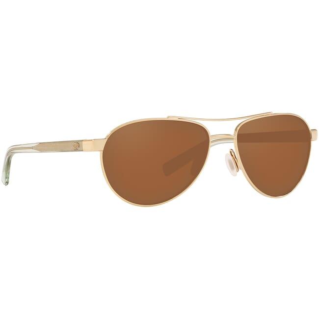 Costa Fernandina Shiny Rose Gold Frame Sunglasses FER-164