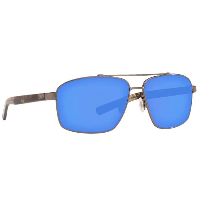 Costa Flagler Brushed Gunmetal Frame Sunglasses FLG-186