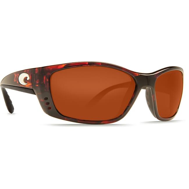 Costa Fisch Tortoise Frame Sunglasses w/ Copper 580P C-Mate 1.50 Lenses FS-10-OCP-1.50