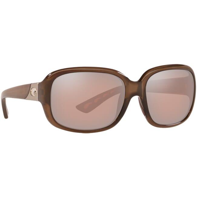 Costa Gannet Shiny Taupe Crystal Frame Sunglasses GNT-258