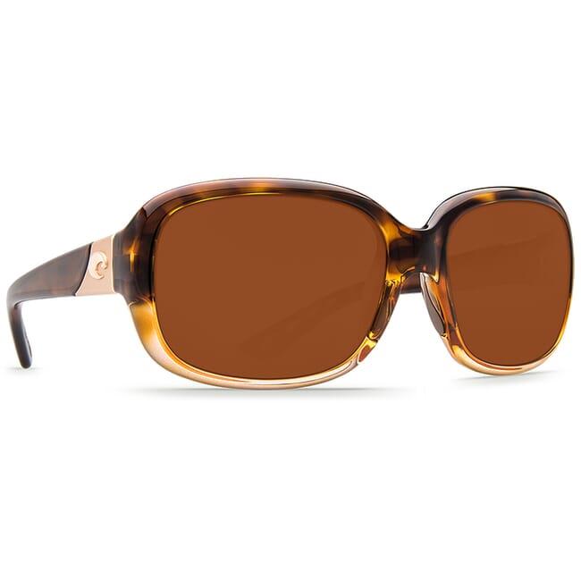 Costa Gannet Shiny Tortoise Fade Frame Sunglasses GNT-120