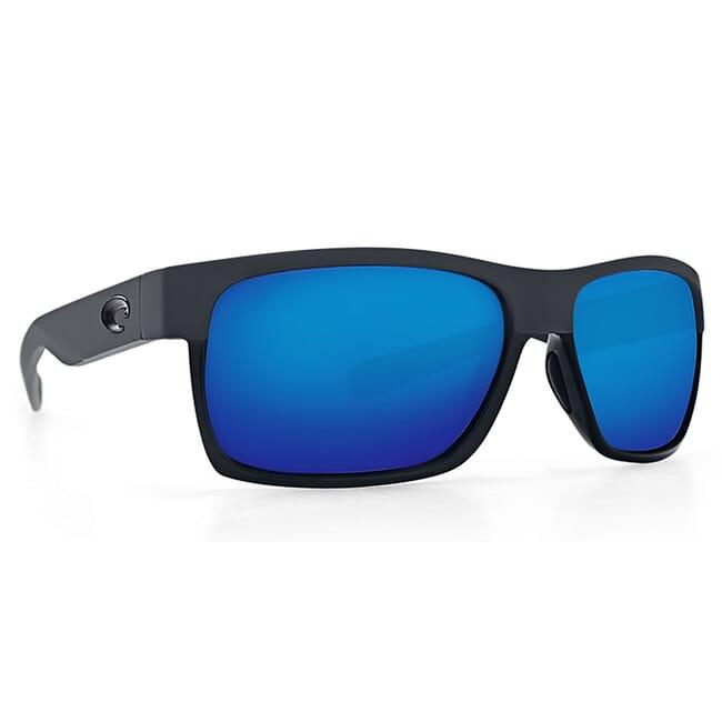 Costa Half Moon Shiny Black/Matte Black Frame Sunglasses HFM-155