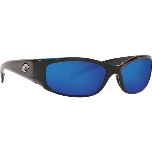 Costa Hammerhead Shiny Black Frame Sunglasses HH-11