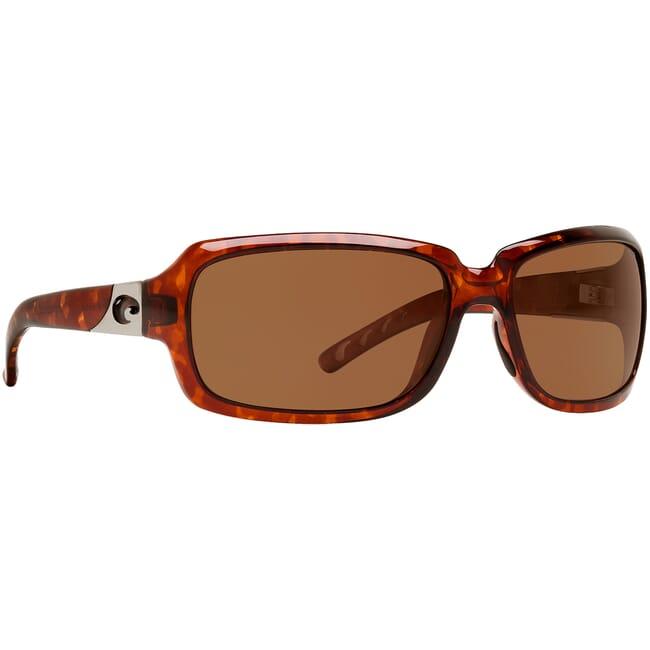 Costa Isabela Tortoise Frame Sunglasses w/ Copper 580P C-Mate 1.50 Lenses IB-10-OCP-1.50