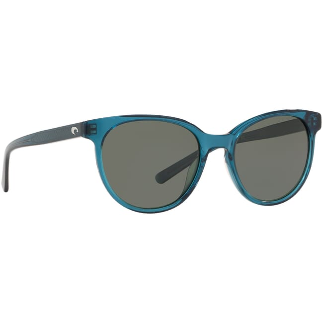Costa Isla Shiny Deep Teal Crystal Sunglasses ISA-244