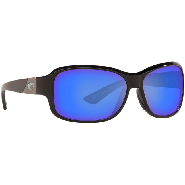 Costa Inlet Shiny Black Frame Sunglasses IT-11