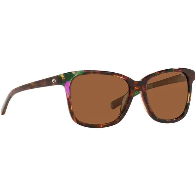 Costa May Shiny Abalone Frame Sunglasses MAY-208