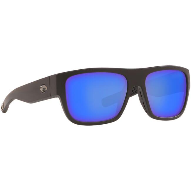 Costa Sampan Matte Black Frame Sunglasses MH1-11