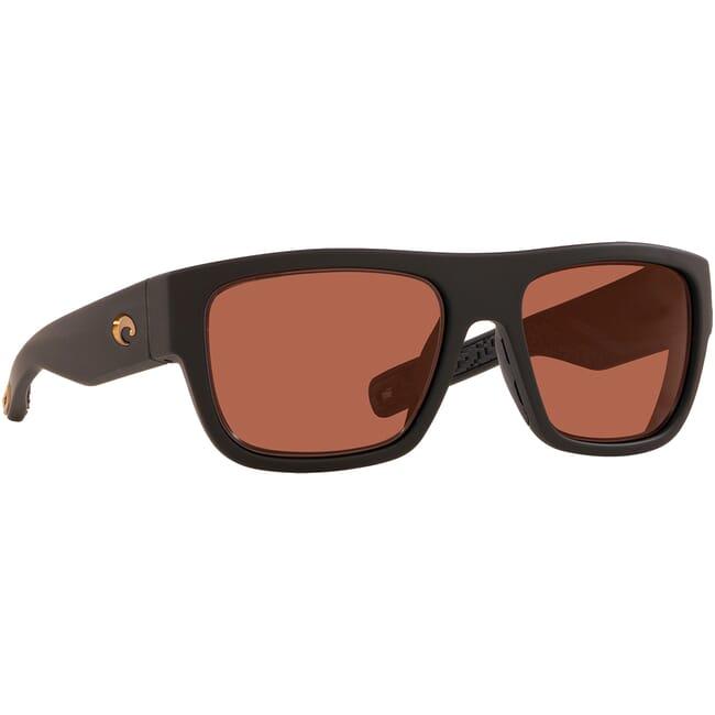 Costa Sampan Matte Black Ultra Frame Sunglasses MH1-187