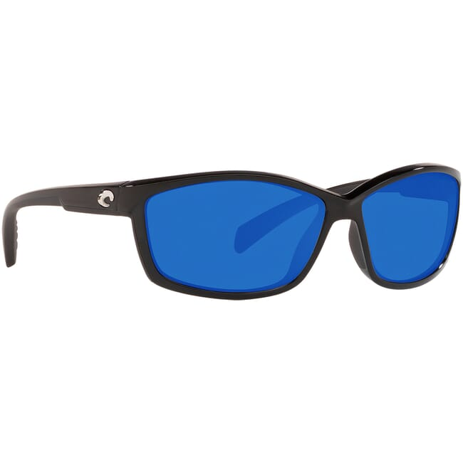 Costa Manta Shiny Black Frame Sunglasses MT-11