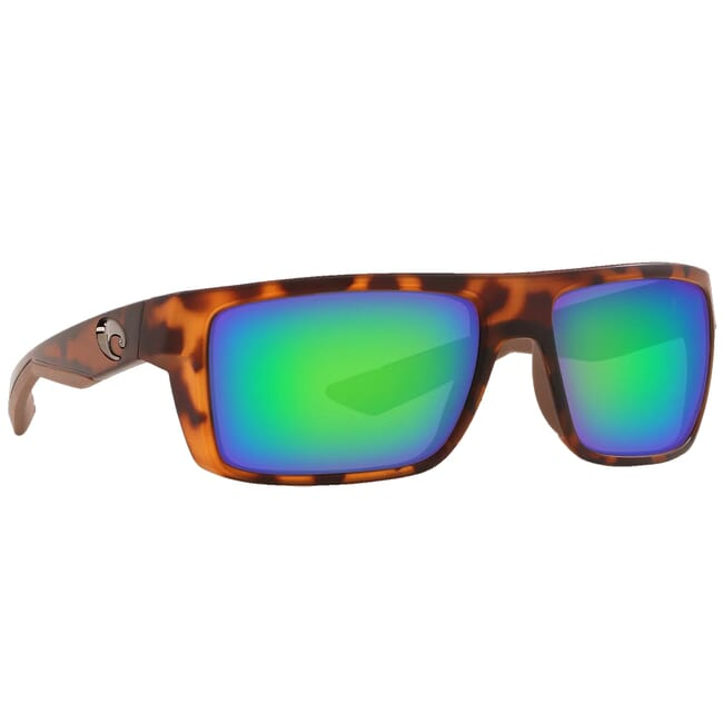 Costa Motu Matte Retro Tortoise Frame Sunglasses MTU-66