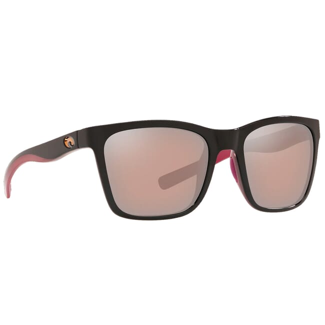 Costa Panga Shiny Black/Crystal/Fuchsia Frame Sunglasses PAG-259