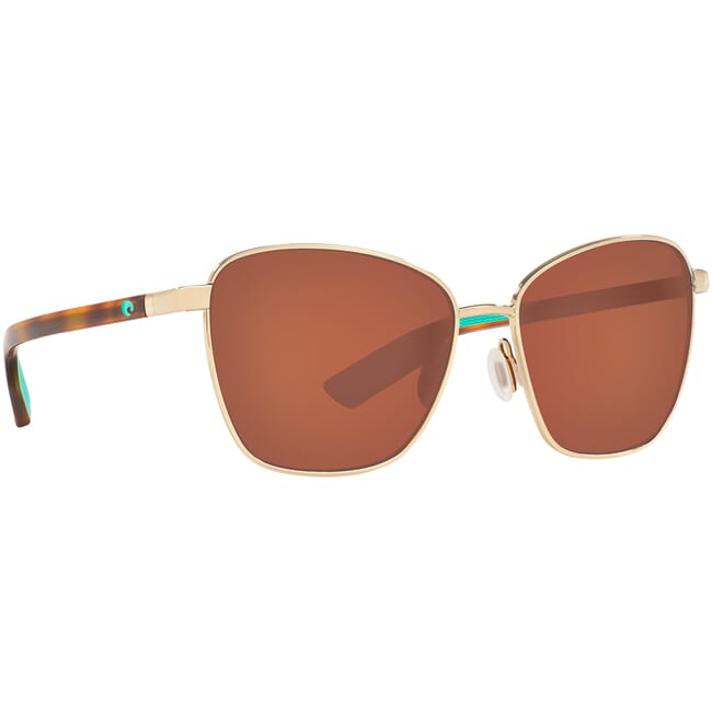 Costa Paloma Shiny Gold Sunglasses PAL-296