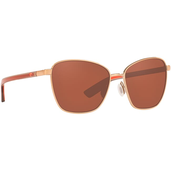Costa Paloma Brushed Rose Gold Sunglasses PAL-297