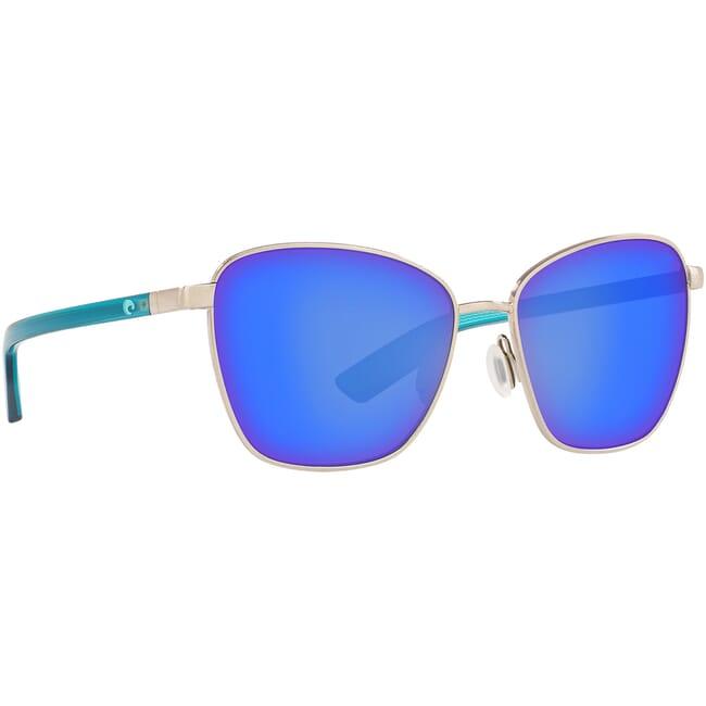Costa Paloma Brushed Silver Sunglasses PAL-299