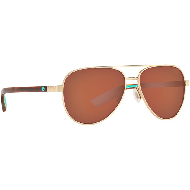 Costa Peli Brushed Gold Sunglasses PEL-287