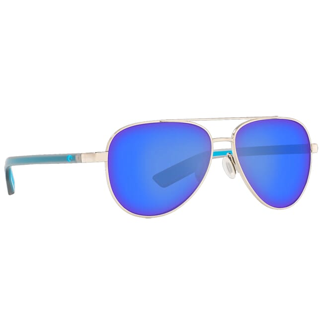 Costa Peli Shiny Silver Sunglasses PEL-288