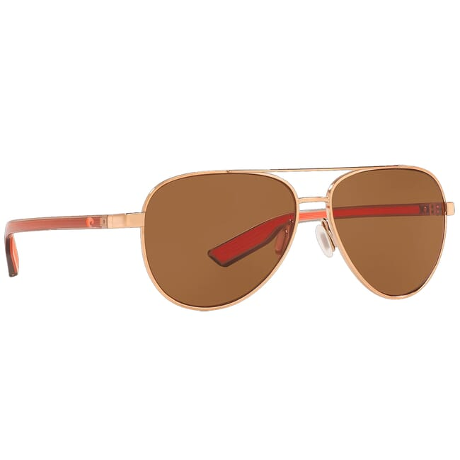 Costa Peli Shiny Rose Gold Sunglasses PEL-290