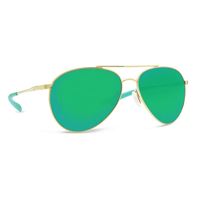 Costa Piper Shiny Gold Frame Sunglasses PIP-126