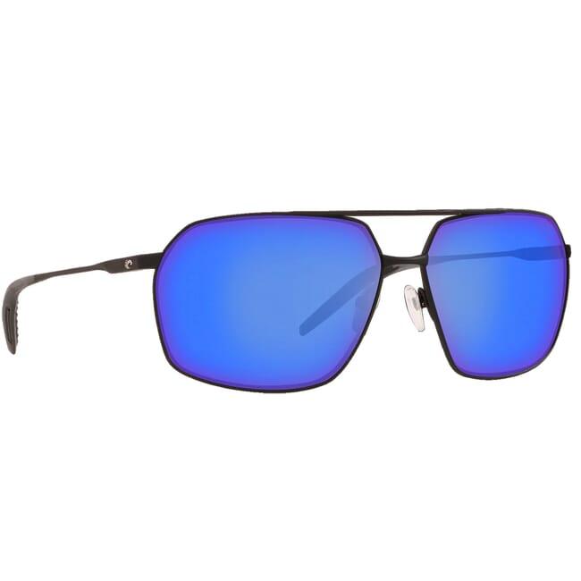 Costa Pilothouse Matte Black/Black Frame Sunglasses PLH-11