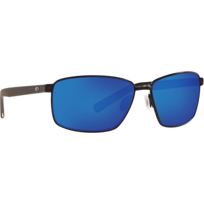 Costa Ponce Matte Black Frame Sunglasses PNC-11