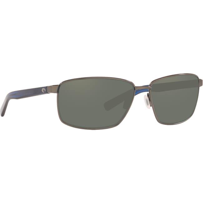 Costa Ponce Brushed Gunmetal Frame Sunglasses PNC-186