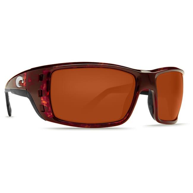 Costa Permit Tortoise Global Fit Frame Sunglasses w/ Copper 580G Lenses PT-10GF-OCGLP