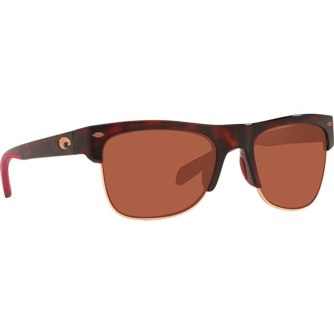 Costa Pawley's Rose Tortoise Frame Sunglasses PW-201