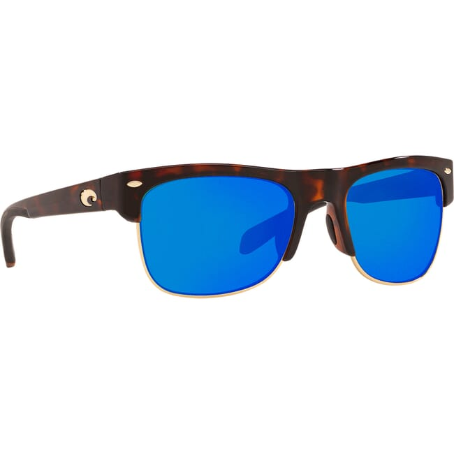 Costa Pawley's Shiny Retro Tortoise Frame Sunglasses PW-66