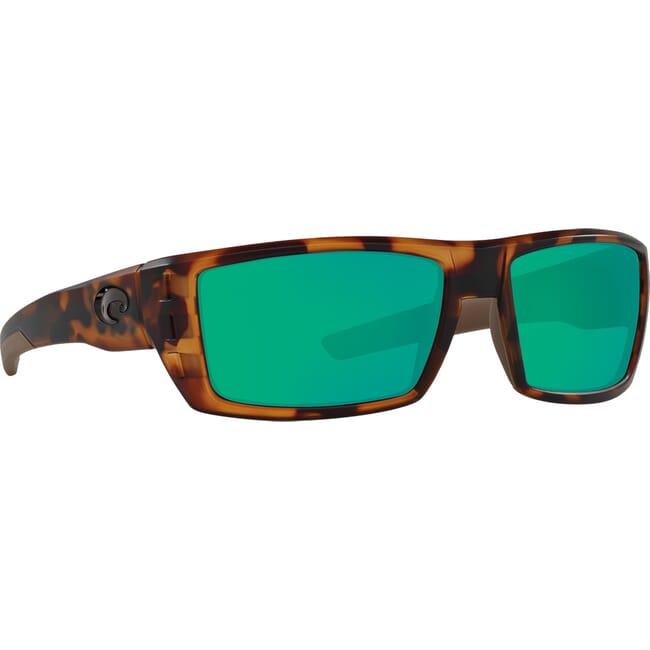 Costa Rafael Matte Retro Tortoise Frame Sunglasses RFL-66