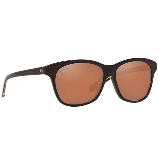 Costa Sarasota Shiny Black Frame Sunglasses SAR-11