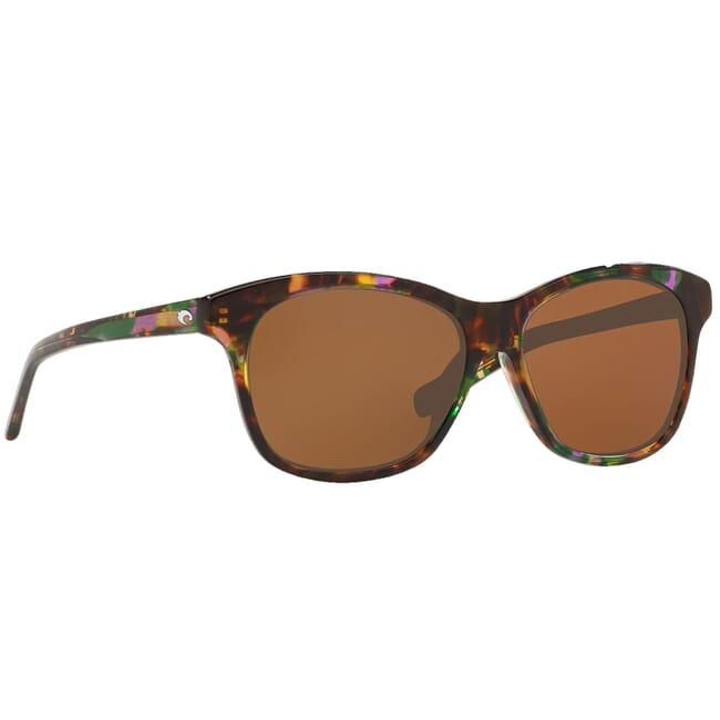 Costa Sarasota Shiny Abalone Frame Sunglasses SAR-208